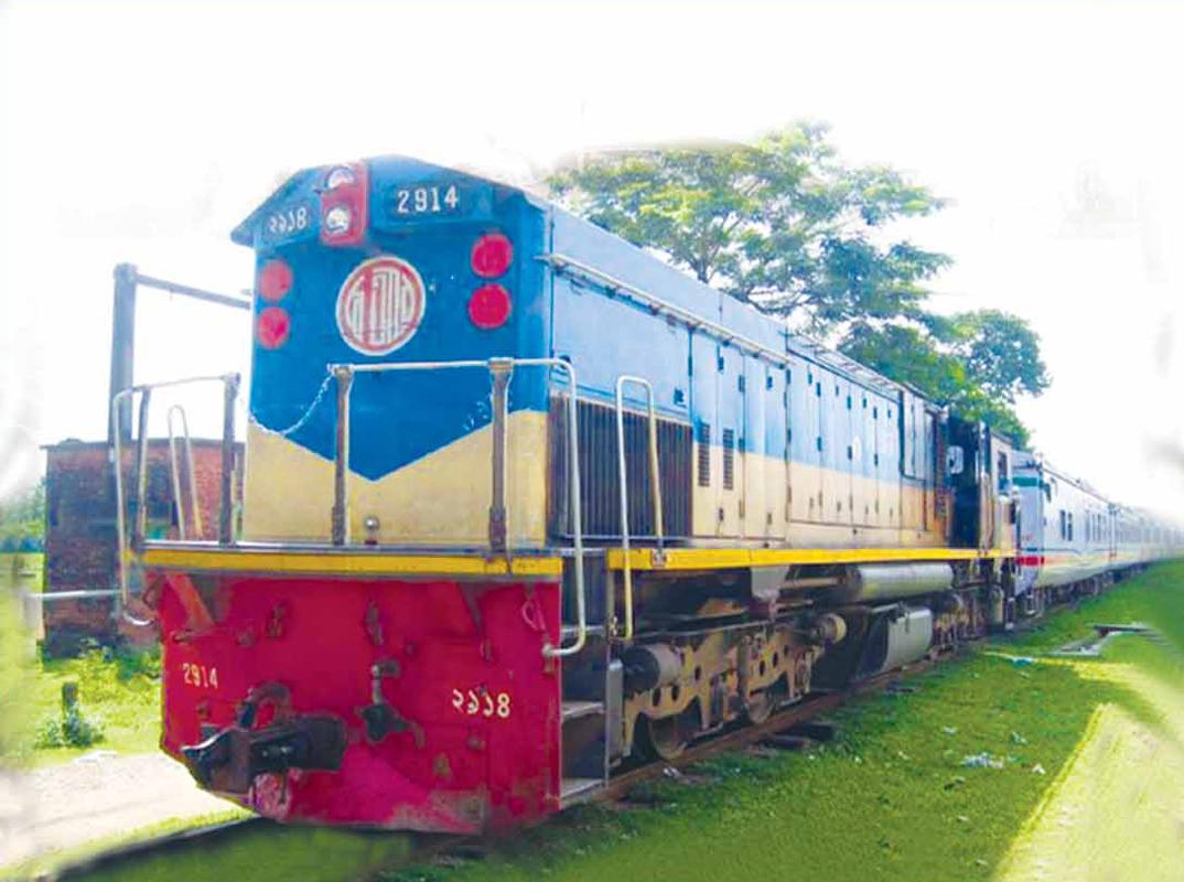 চালুকৃত সিরাজগঞ্জ এক্সপ্রেস ট্রেন
